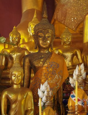 Buddhas, Wat Prasingh, ChiangMai