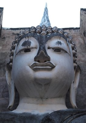 Head of Buddha at Wat Si Chum