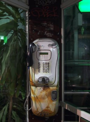 Chiang Mai telephone booth