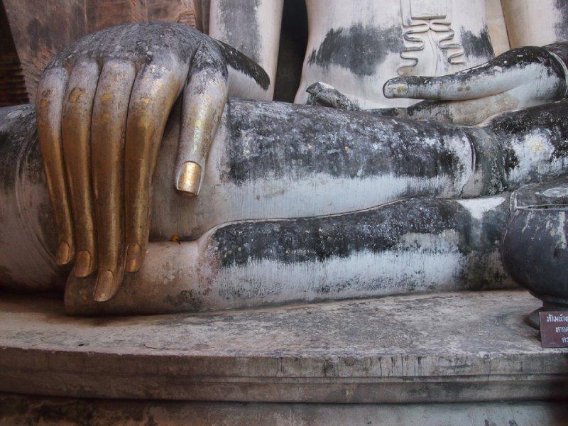 Buddha hand, Wat Si Chum