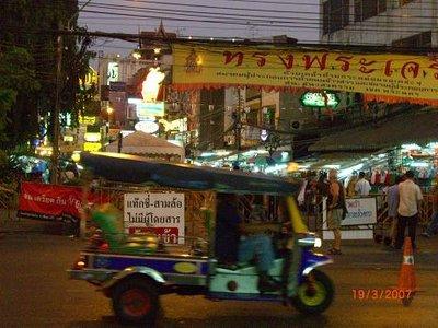 Leaving Khao San Rd