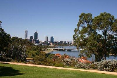 Perth and Swan River