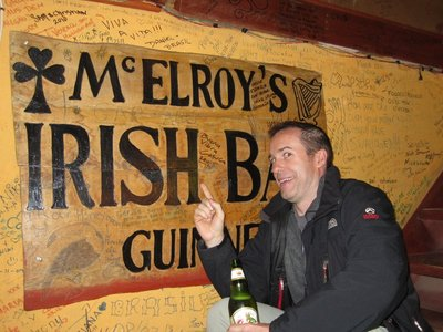 Cant take the boy out of Ireland