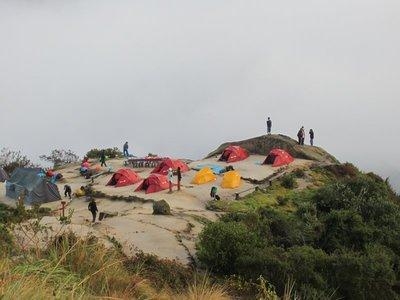 Machu Picchu - Camping