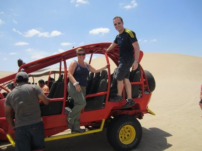 Leigh & Ross's Dune Buggy!