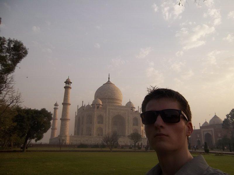 Me at Taj Mahal :D