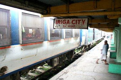 Stopping in Iriga