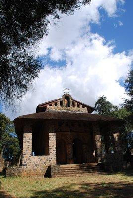 Debre Berhan Selassie Church, Gondar, Ethiopia