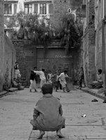 Street Football in Sana'a, Yemen