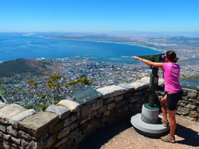 10. Look what I can see .... on top of Table Mountain, SA