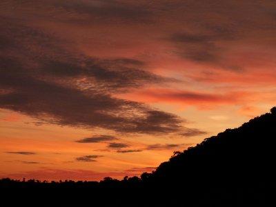12. Bush Camp, Tsedilo, sunrise from rocks