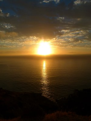 12. Sun Set, West coast peninsular, SA