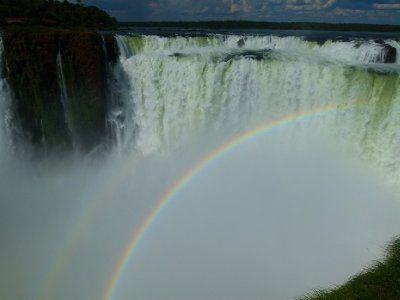14. Double rainbow, Iguazu Falls