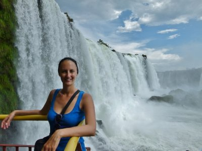 6. Close enough to touch it.... Foz do Iguazu, Brazil
