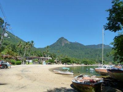 2. Abraao town, Ilha Grande