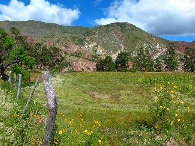2. Green pastures, day 1 scenary near Ravelo river
