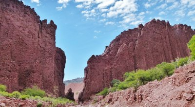 5. Red canyons