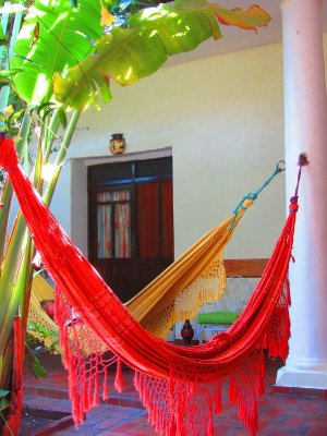 5. Time for a rest, hammock time