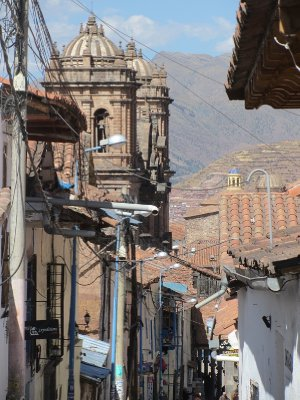 6. CUSCO Typical street, old town