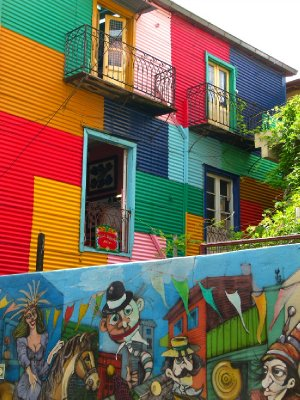 6. Street art, La Boca district 3