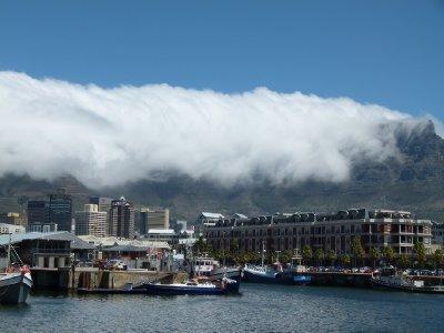 9. Table cloth mountain, Cape Town, SA