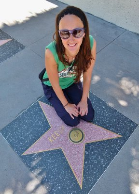 I have a star along Hollywood Bvld