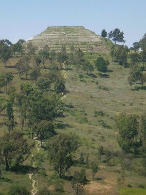 Xochitecatl, Aztek Ruins, near Puebla