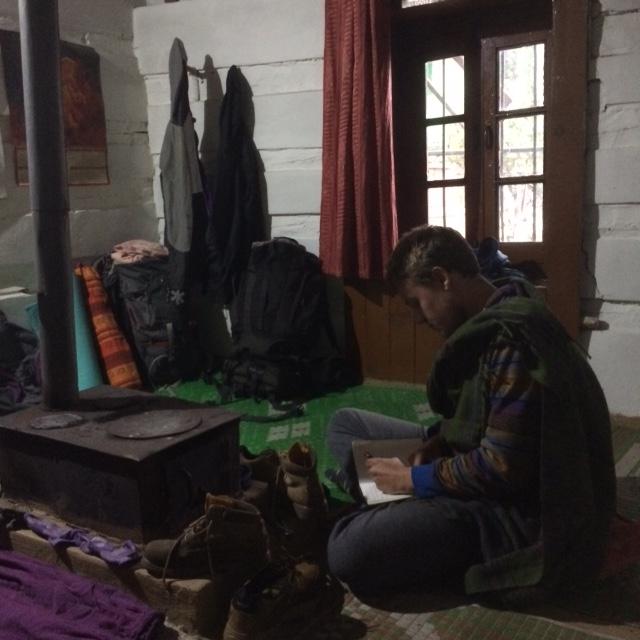 Blog writing around the tandori
