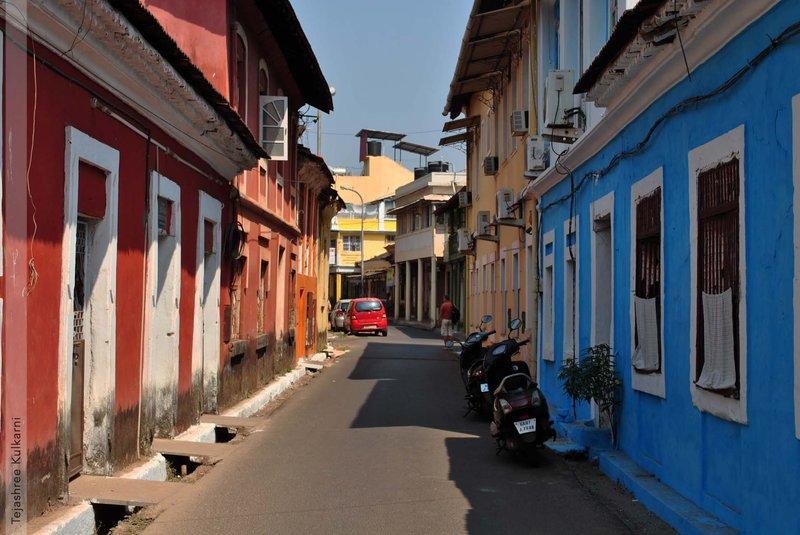 Fontainhas Streets