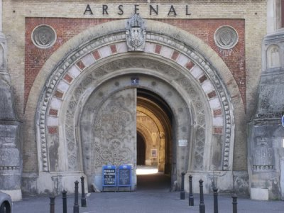 AUSTRIA_Vienna - Arsenal door