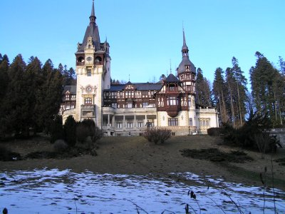 ROMANIA - Pelesh Castle in Sinaia