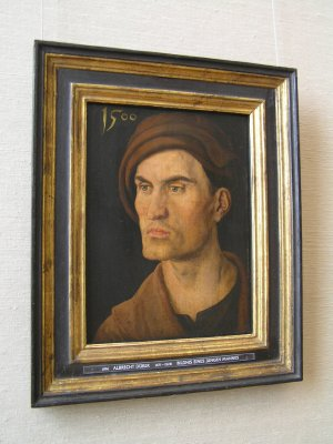 GERMANY_Munich - Portrait of young man by Durer