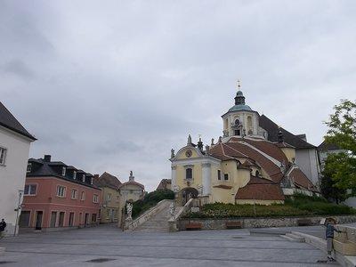AUSTRIA_Eisenstadt - Haydn kirche
