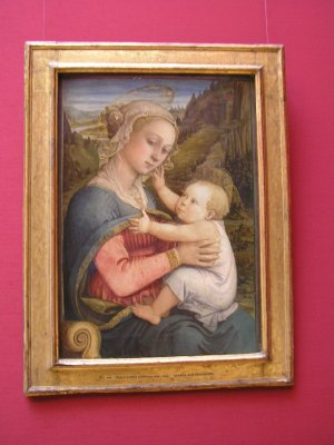 GERMANY_Munich - Madonna by Filippo Lippi