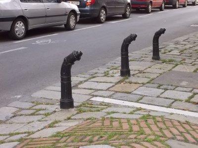 AUSTRIA_Vienna_street border by Hundertwasser