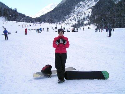 BULGARIA - Bansko - snowboarding