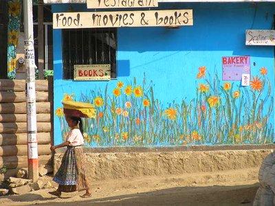 GUATEMALA - Lago Atitlan -San Pedro - street