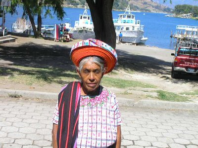 GUATEMALA - Lago Atitlan - Santiago Atitlan - traditional dress