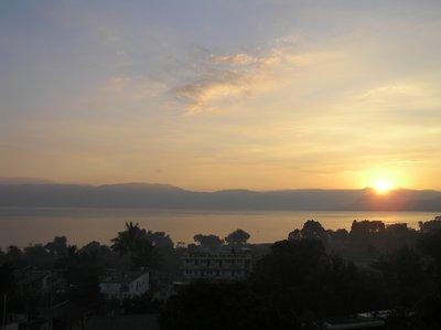 GUATEMALA - Sunrise on Lago Atitlan
