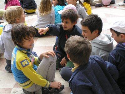 ITALY_Padova_boys at Piazza Duomo