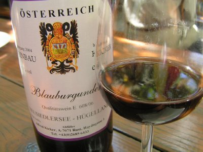 AUSTRIA_Rust - wine