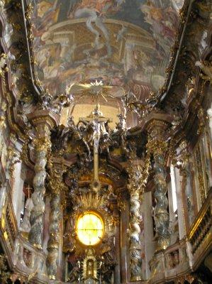 GERMANY_Munich - St Johann Nepomuk Kirche ceiling