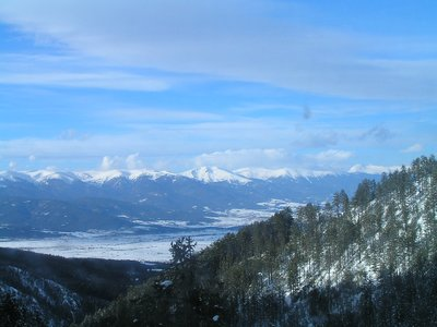 BULGARIA - Bansko - View from ski-lift