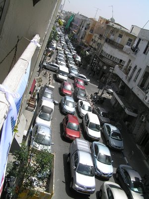Israel - Busy traffic in South Tel Aviv