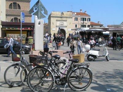 ITALY_Chioggia - Torre di Santa Maria in market day