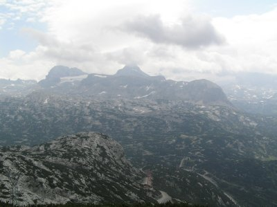 """AU_view from """"5 fingers"""" in Dachstein"""
