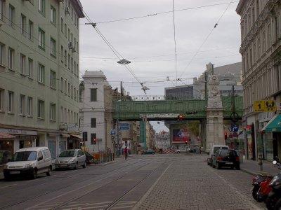 AU_Vienna - Fuchsthaller Gasse bridge