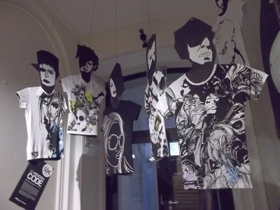 Vienna_Le Meridien - painted Tshirts
