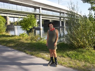 AU_skating in September (Donauinsel in Vienna)