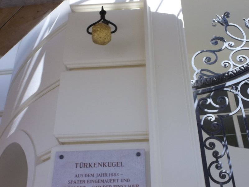 AUSTRIA_Vienna - TurkenKugel at Am Hof (1st district)